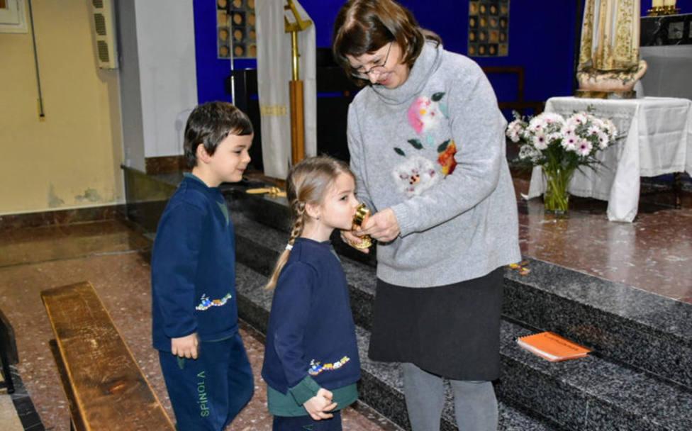 Las reliquias de los pastorcitos de Fátima visitan Barcelona