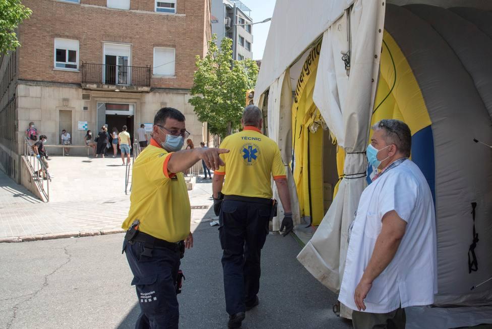 El hospital de Lleida abre una tercera planta para pacientes con COVID-19