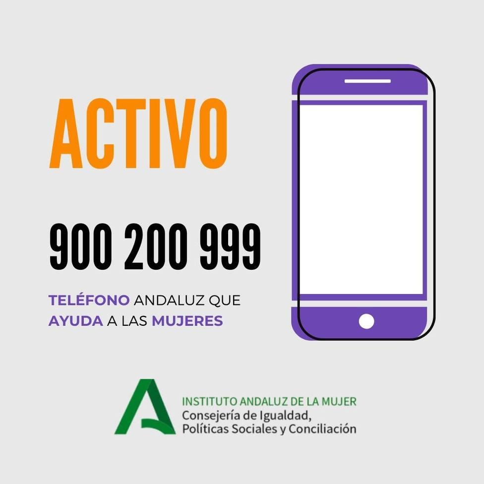 El teléfono de asistencia a víctimas de violencia de género duplica las llamadas en el primer semestre del año