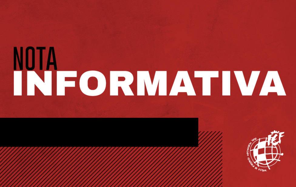La RFEF aboga por un Plan avalado por los poderes públicos para iniciar las competiciones