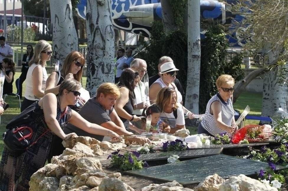 Familiares de las víctimas del accidente de Spanair