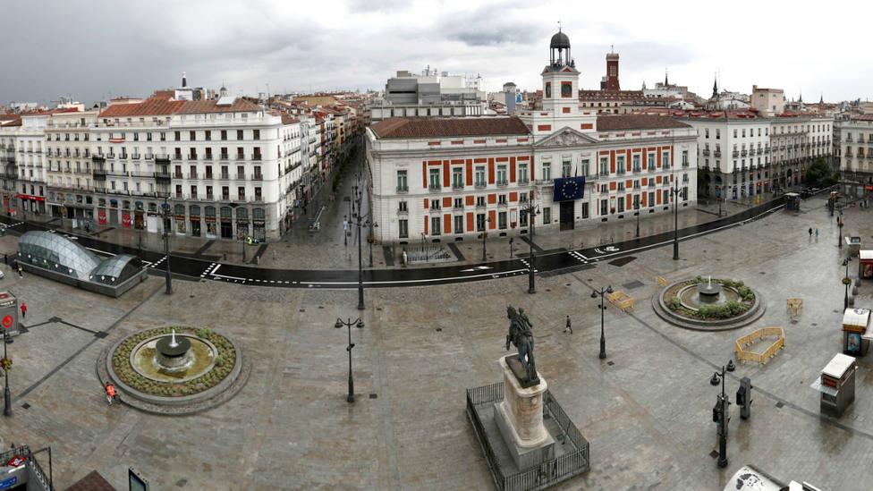 La Puerta del Sol de Madrid