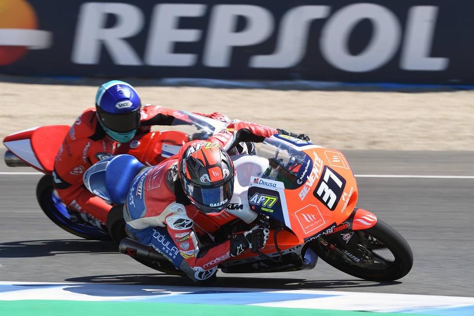 Acosta se marcha con dos podios de Jerez