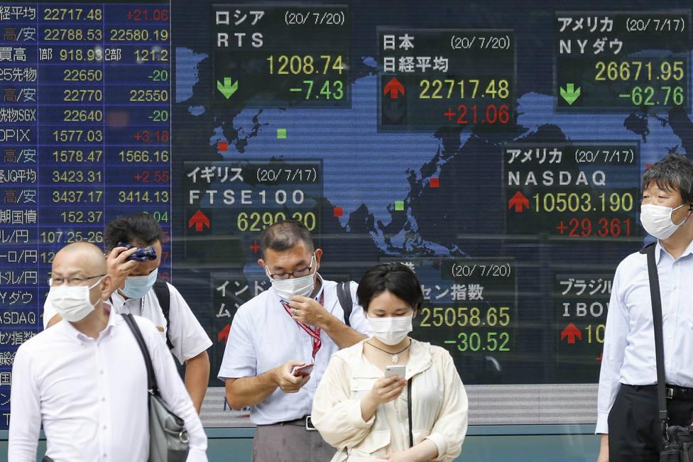 Las bolsas mundiales muestran su debilidad