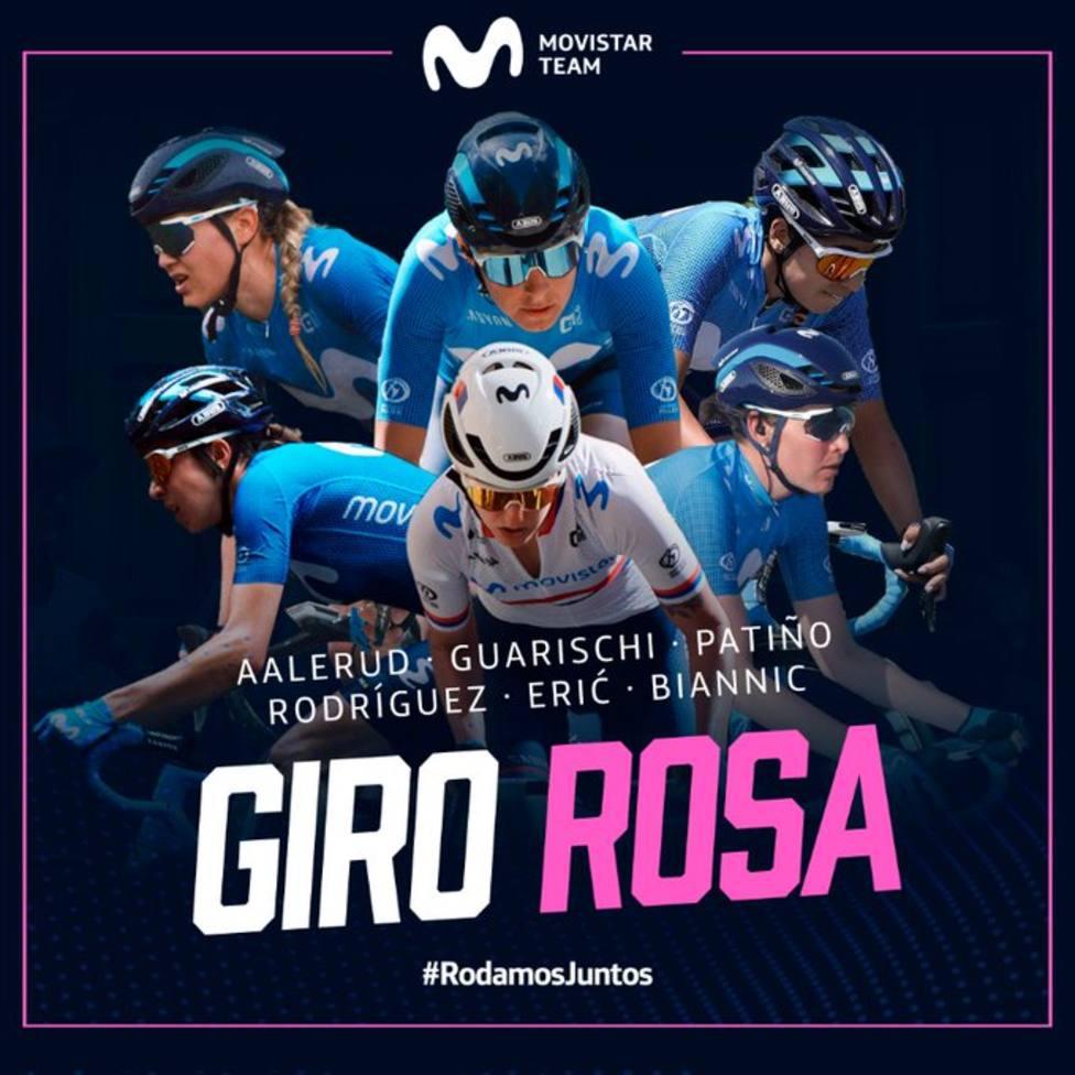 La pachequera Gloria Rodríguez estará en la línea de salida del Giro