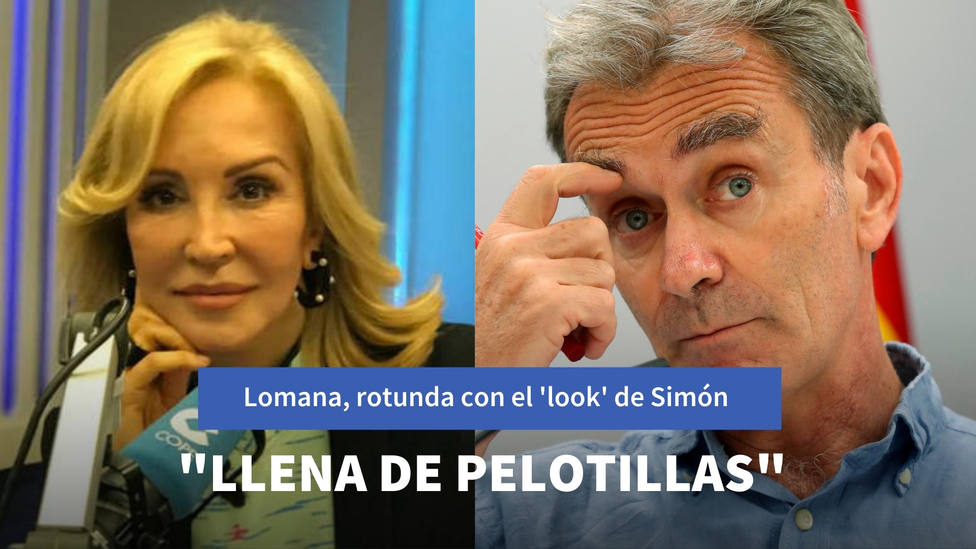 Carmen Lomana carga contra el look de Fernando Simón: Esa chaqueta gris llena de pelotillas...