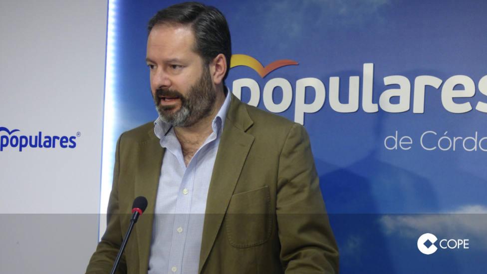 Molina critica que el PSOE pida aplaudir una pérdida de 233 millones en la PAC para Córdoba
