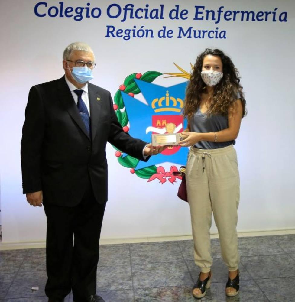 El Colegio de Enfermería premia a tres tituladas de la UCAM por las mejores tesis doctorales