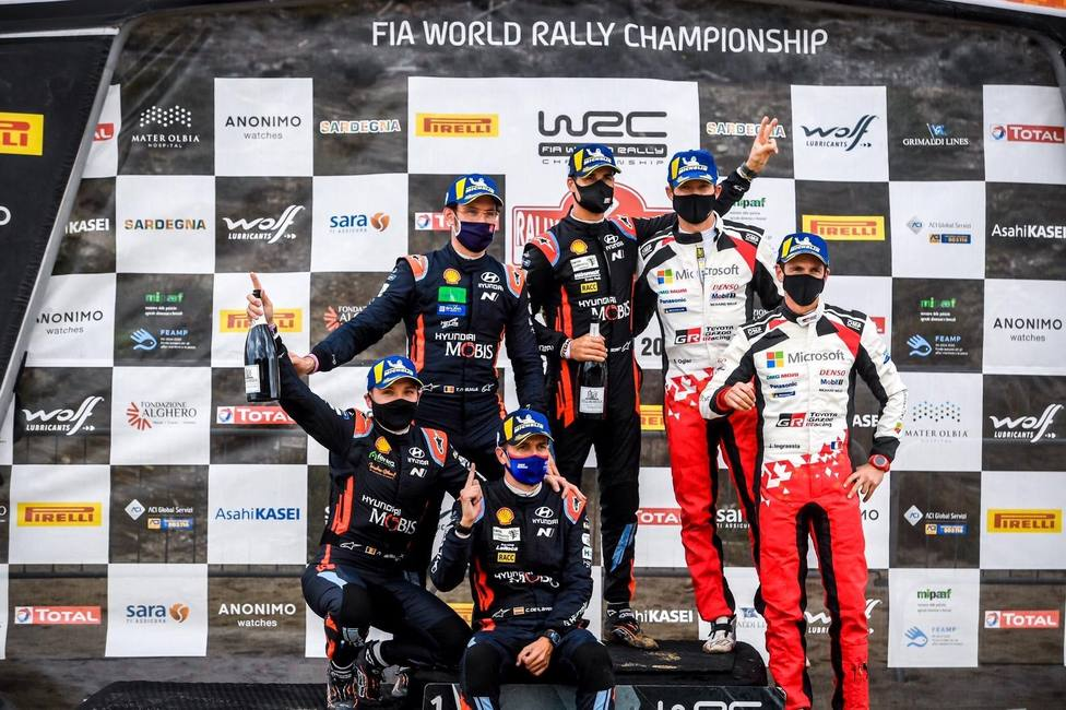 Rally.- Dani Sordo vuelve a ganar el Rally de Italia-Cerdeña