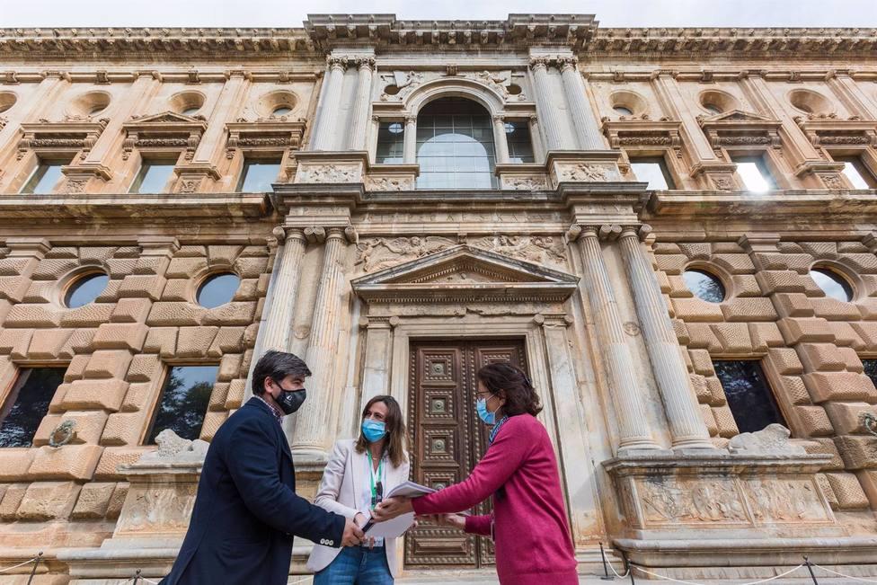 Granada.- La Alhambra licita por más de un millón de euros la restauración de las portadas del Palacio de Carlos V