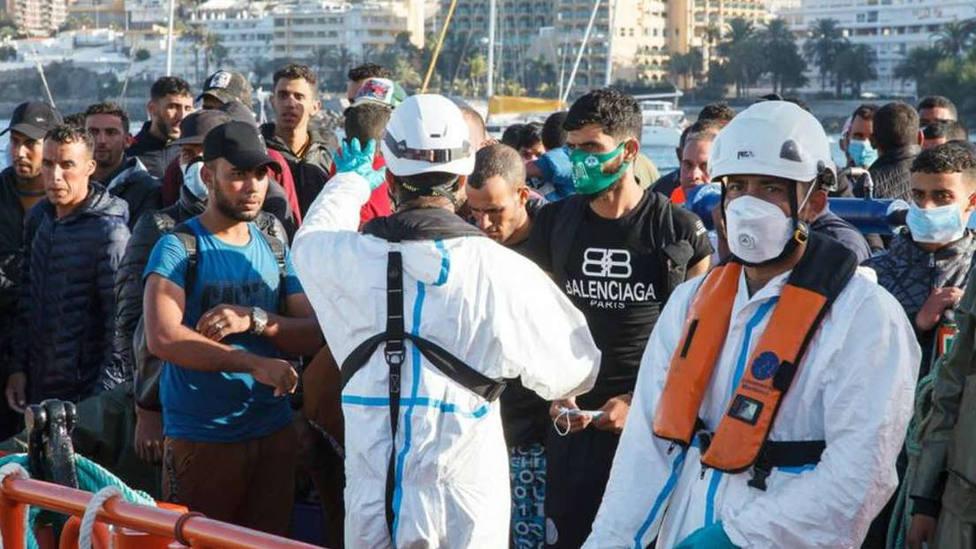 La Iglesia, sobre la situación de los inmigrantes en Canarias: No se pueden crear guetos