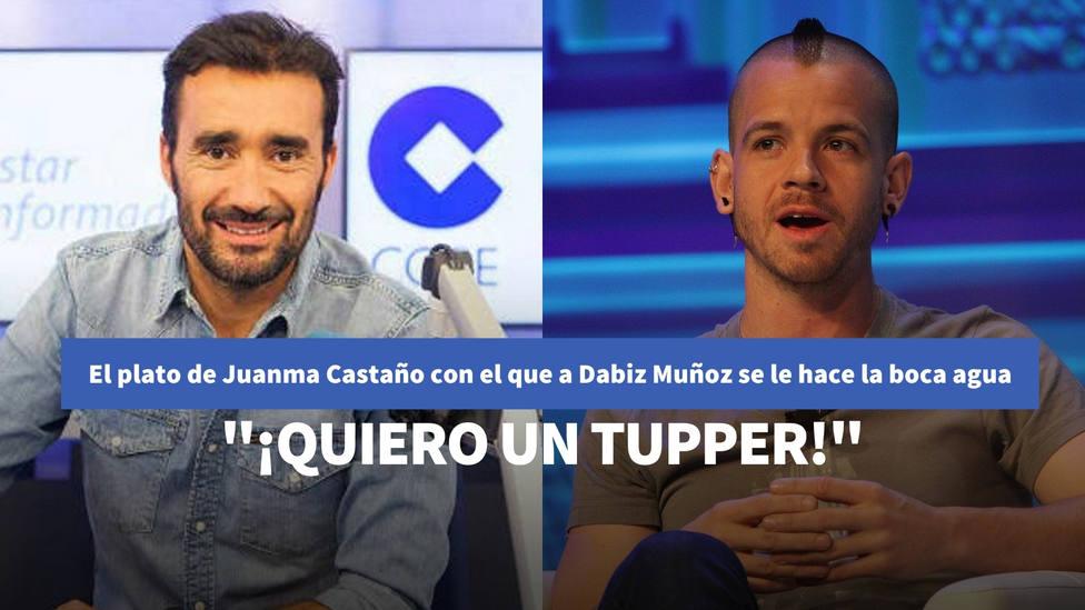 """El plato de Juanma Castaño con el que al cocinero Dabiz Muñoz se le hace la boca agua: """"¡Quiero un tupper!"""""""