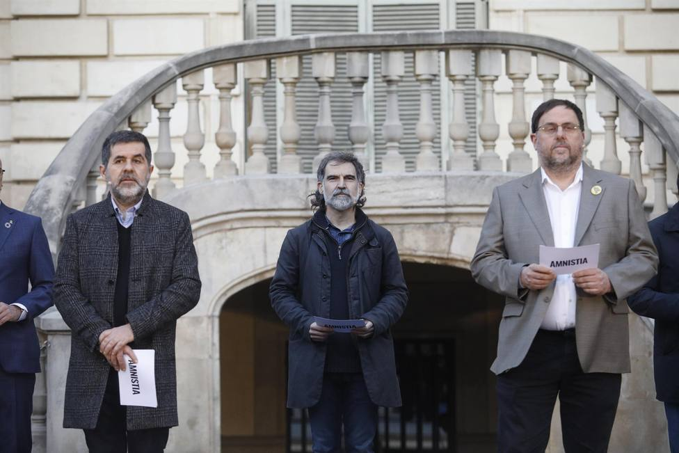 Algunos de los políticos presos por el1-O