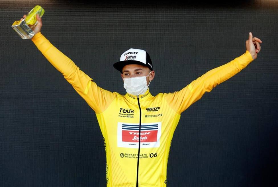 El italiano Brambilla se lleva la etapa y el triunfo final del Tour de los Alpes Marítimos