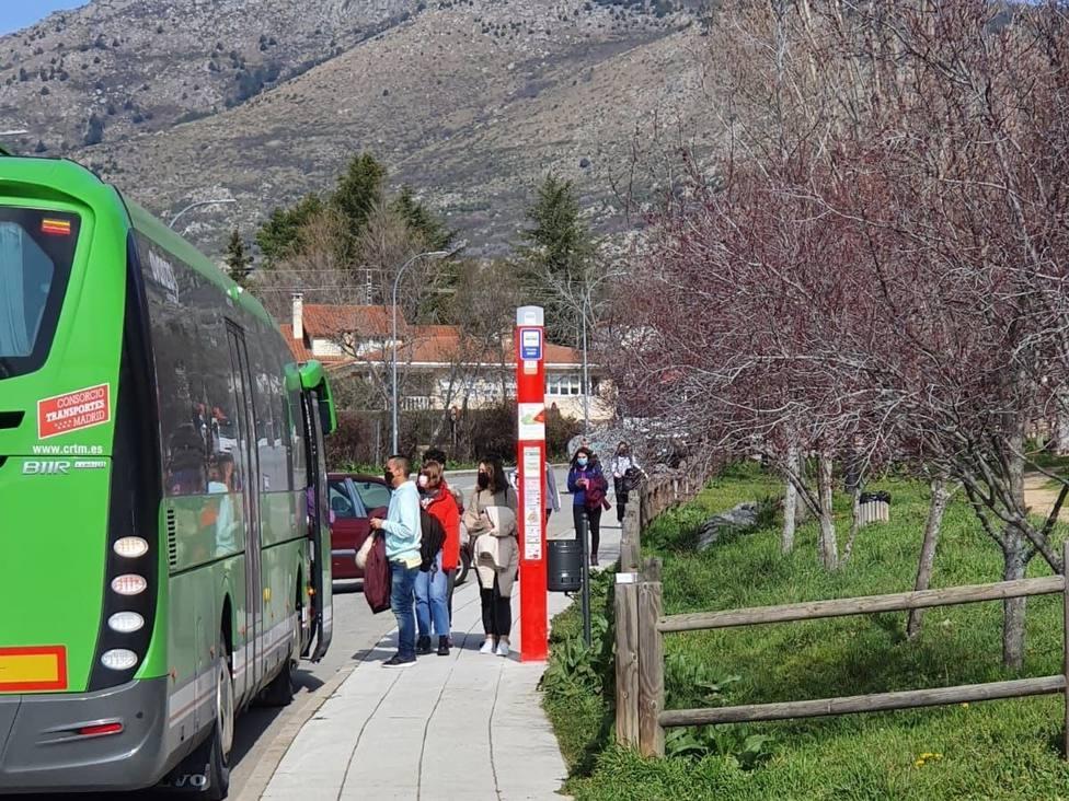 Más de 500 personas usaron el autobús lanzadera este fin de semana