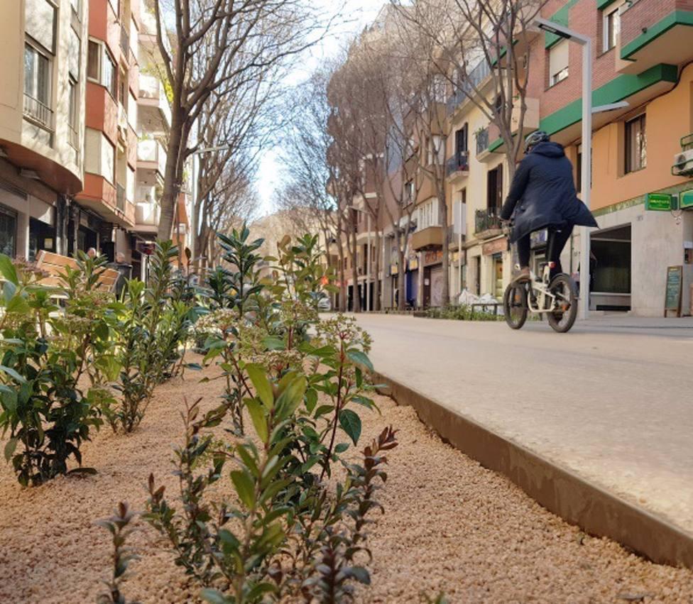 Barcelona pacificará un nuevo tramo de la calle Gran de Sant Andreu