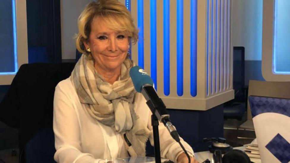 Carlos Herrera entrevista este lunes a Esperanza Aguirre en Herrera en COPE