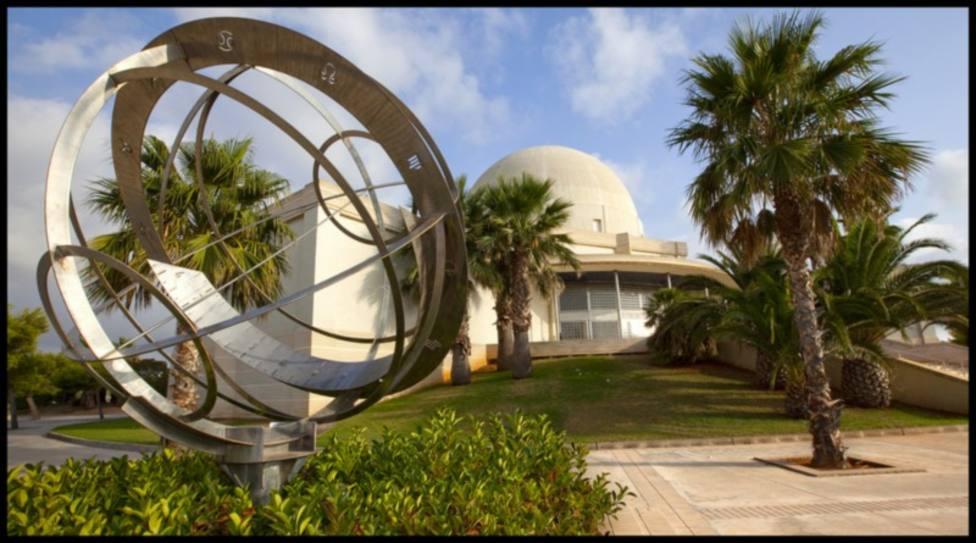 Planetario de Castellón, ubicado en el Grao junto a la playa de El Pinar