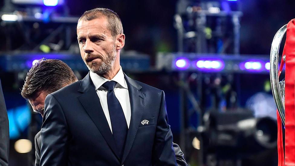 Aleksander Ceferin, poresidente de la UEFA. CORDONPRESS