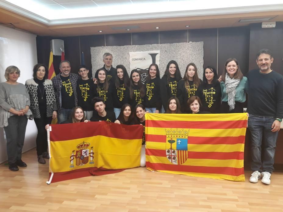 Pirineos Teatro representará a España en Lituania