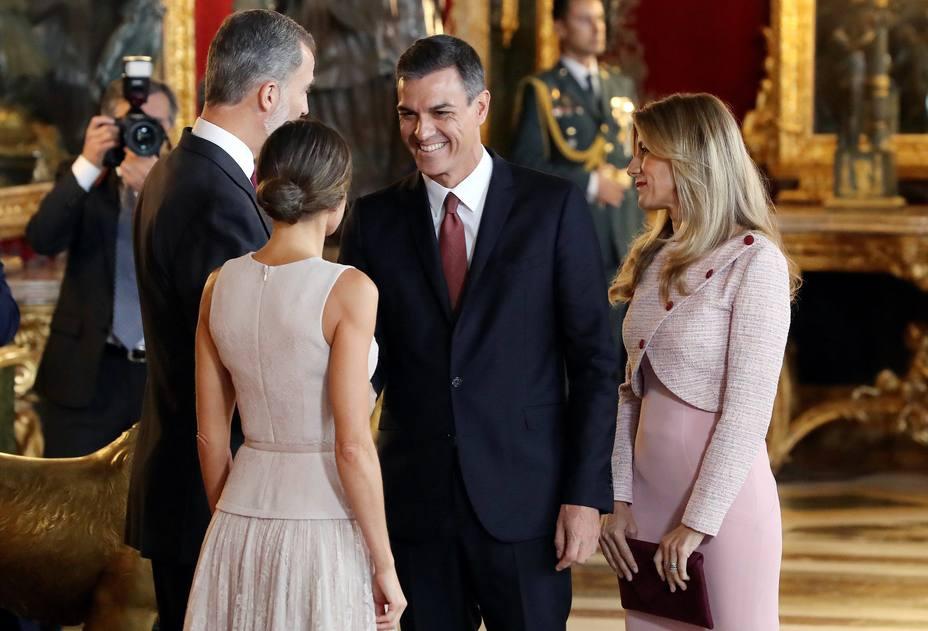 Recepción en el Palacio Real