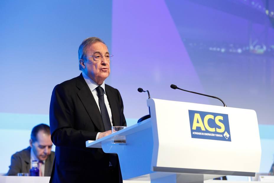 ACS pagará un diviendo de 0,449 euros en febrero, el mismo importe que un año antes
