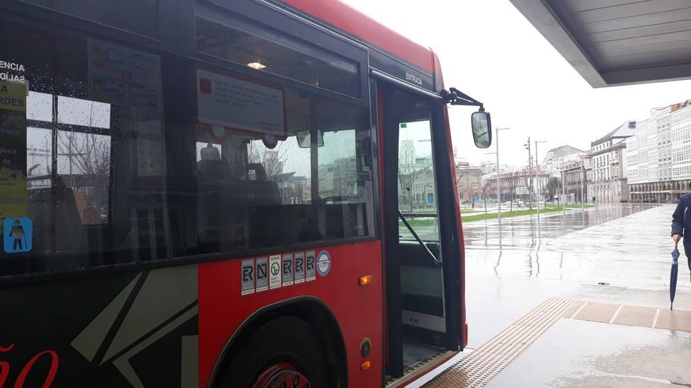 Autobús urbano de A Coruña