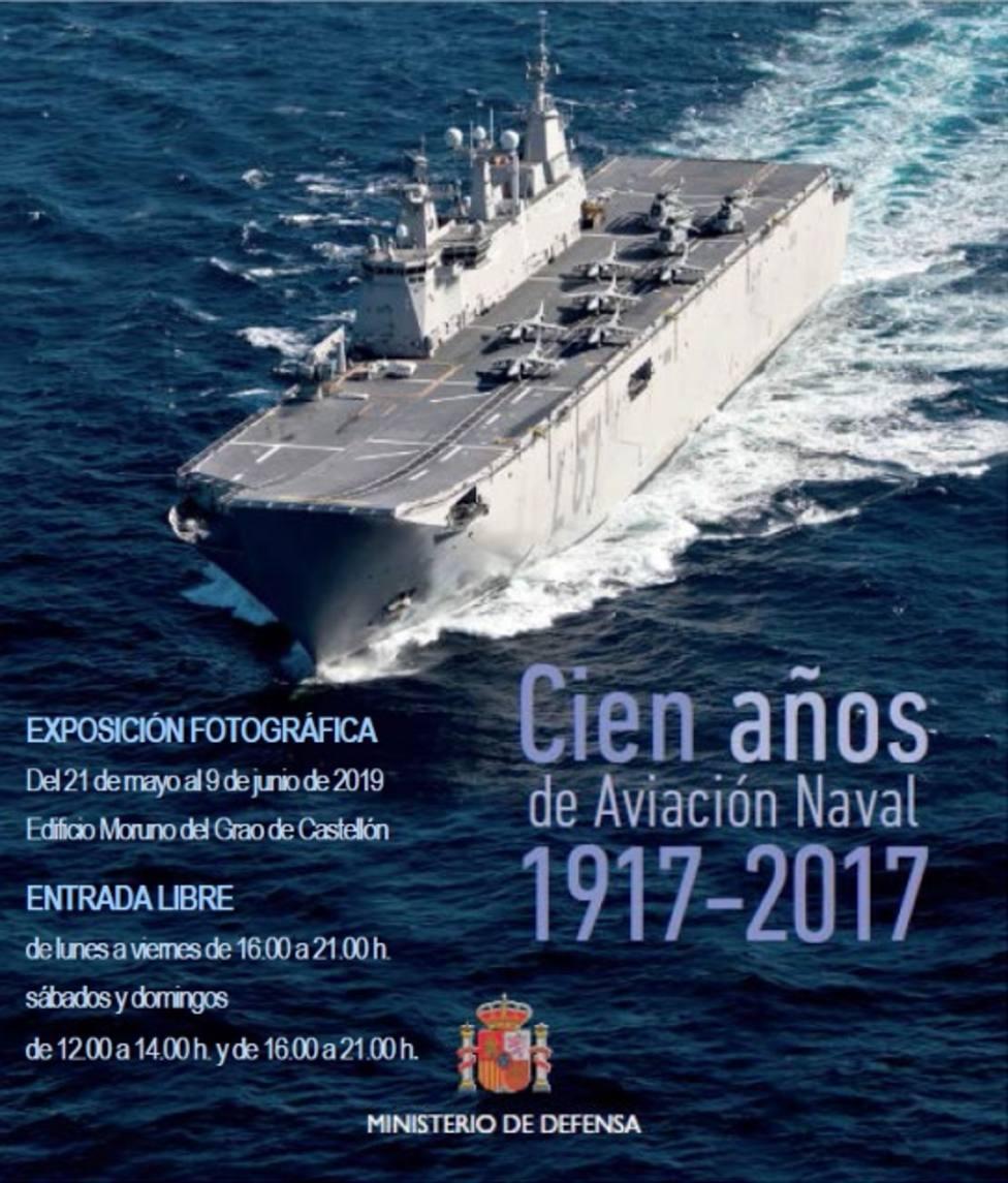 Exposición fotográfica aviación naval