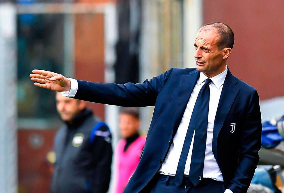 Allegri se despide de la Juventus con derrota (EFE)