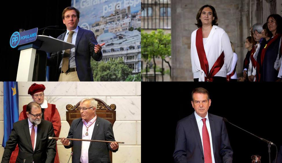 Descubre el perfil más personal de los alcaldes de las ciudades más importantes de España