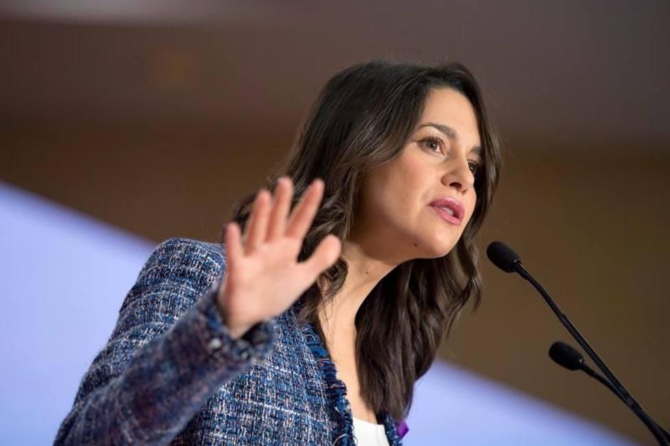 Inés Arrimadas, portavoz de Cs en el Congreso