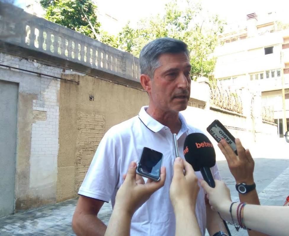 JxCat de Barcelona recuerda que Forn tiene el 100% de sus derechos tras la oposición de Fiscalía