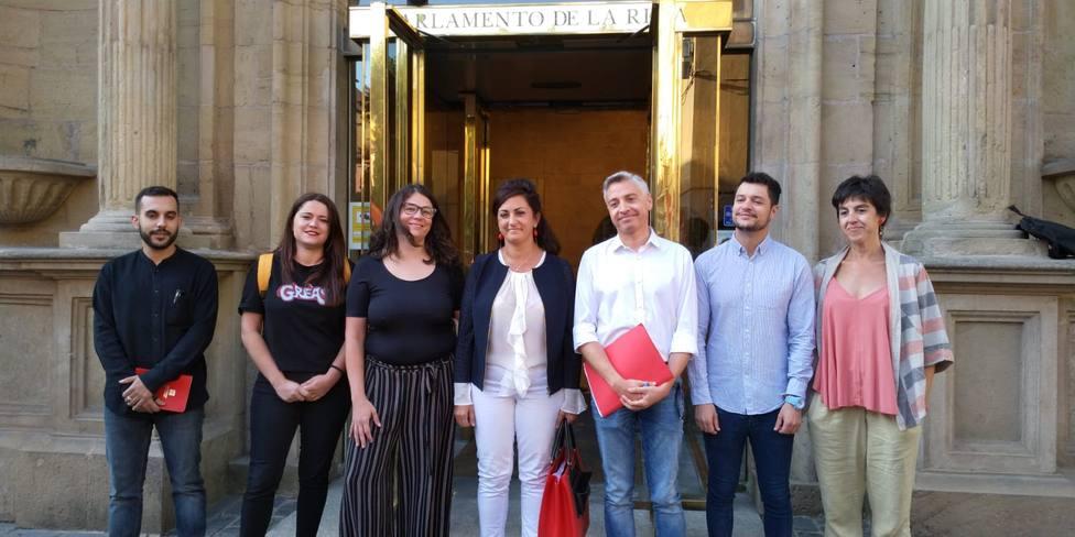 PSOE y Podemos retoman con ánimo la negociación para el Gobierno riojano