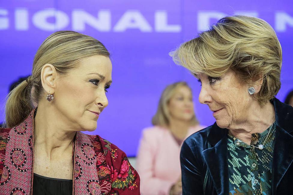 Los motivos por los que imputan a Esperanza Aguirre y Cristina Cifuentes