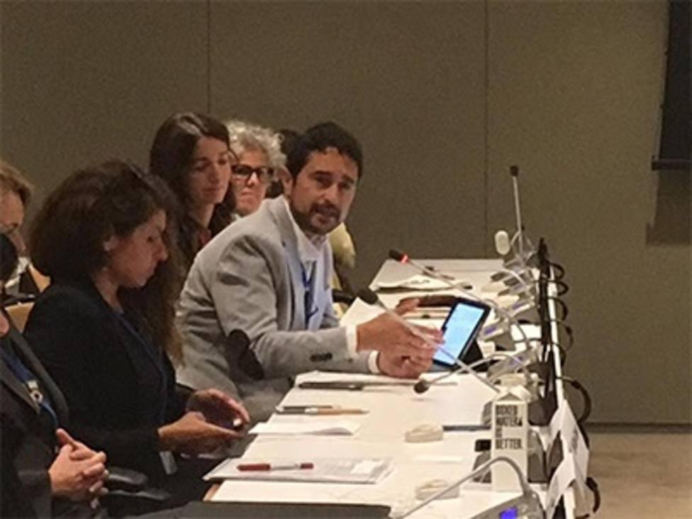 Calvet reivindica en la ONU el compromiso de los gobiernos territoriales con la acción climática