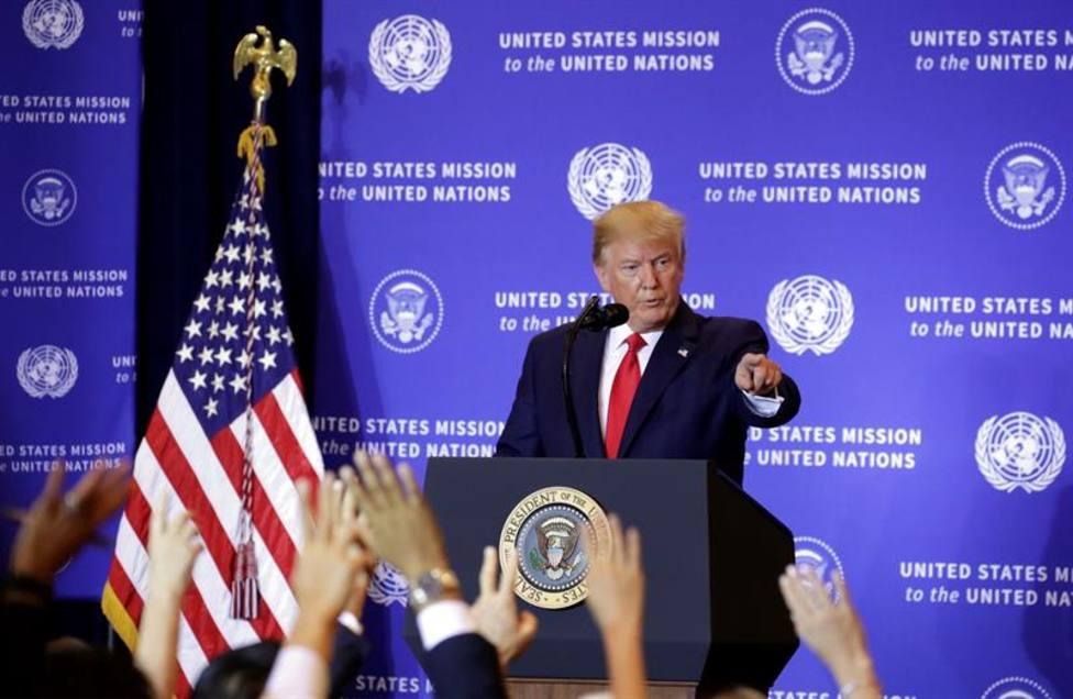 Trump prohíbe la entrada a Estados Unidos a altos cargos de Venezuela e Irán