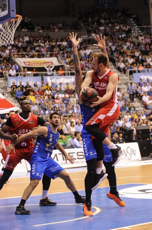 Los triples condenan a UCAM Murcia CB en Burgos (92-82)