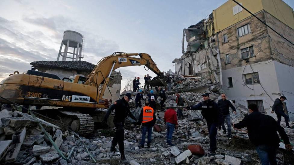 El Papa envía una primera contribución de 100.000 euros para ayudar a los afectados del terremoto de Albania