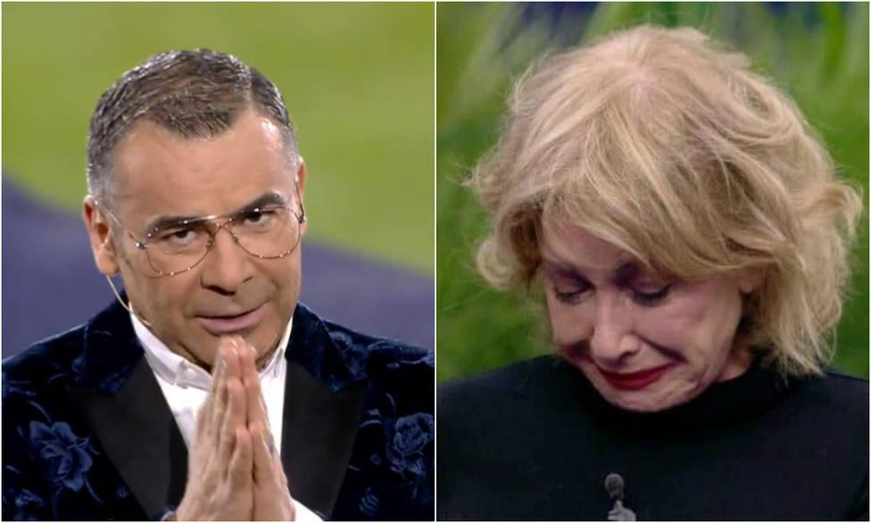 La despedida de Jorge Javier Vázquez de GH VIP en el momento más duro del programa