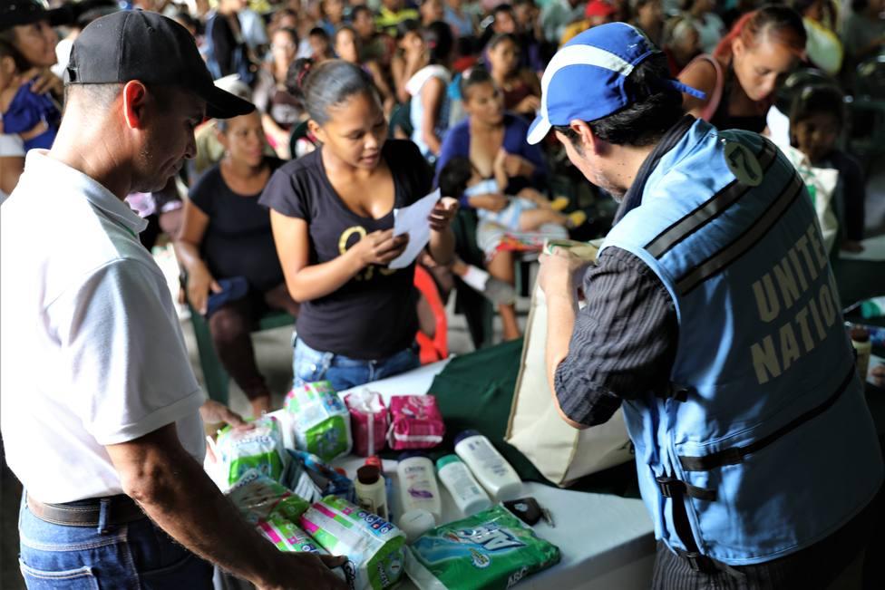 La falta de fondos, el desafío de la ONU para seguir salvando vidas en Venezuela