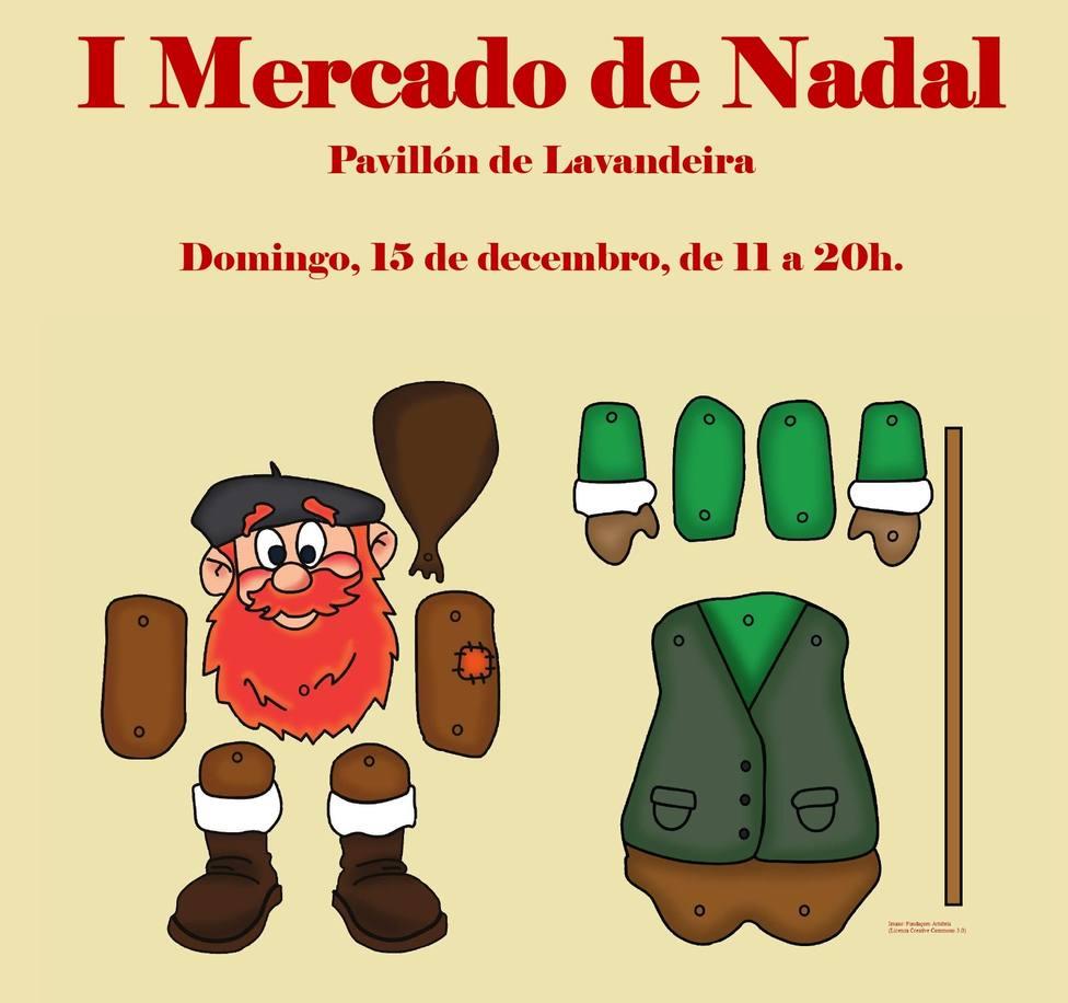 El I Mercado de Nadal de Cabanas se celebrará en el pabellón de Lavandeira