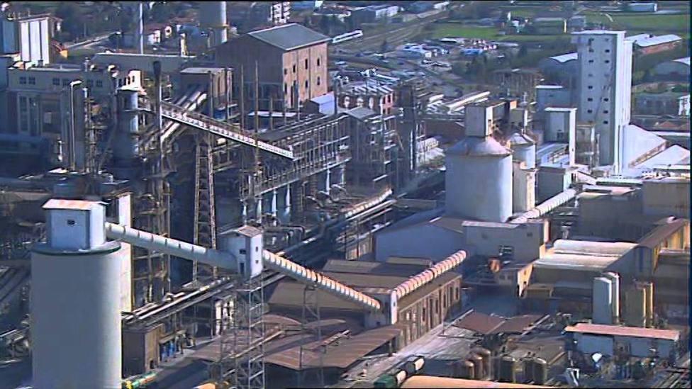 La industria de Cantabria supone el 21.5% del PIB