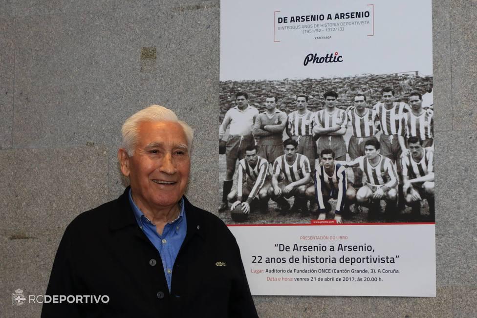 Arsenio Iglesias (foto: RCDeportivo)