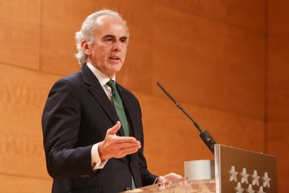 Ruiz Escudero estima que la cifra real de contagiados en Madrid estaría por encima de los 50.000