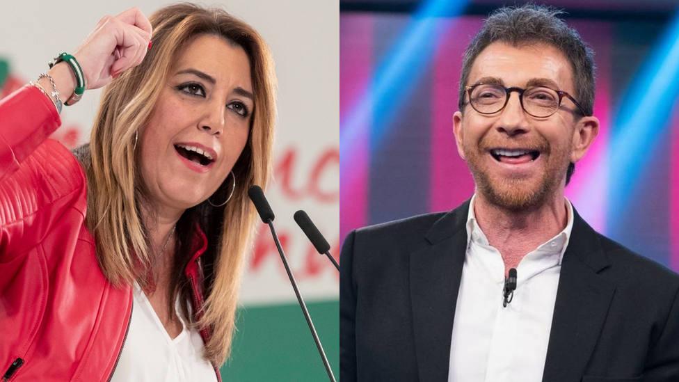 Susana Díaz y Pablo Motos