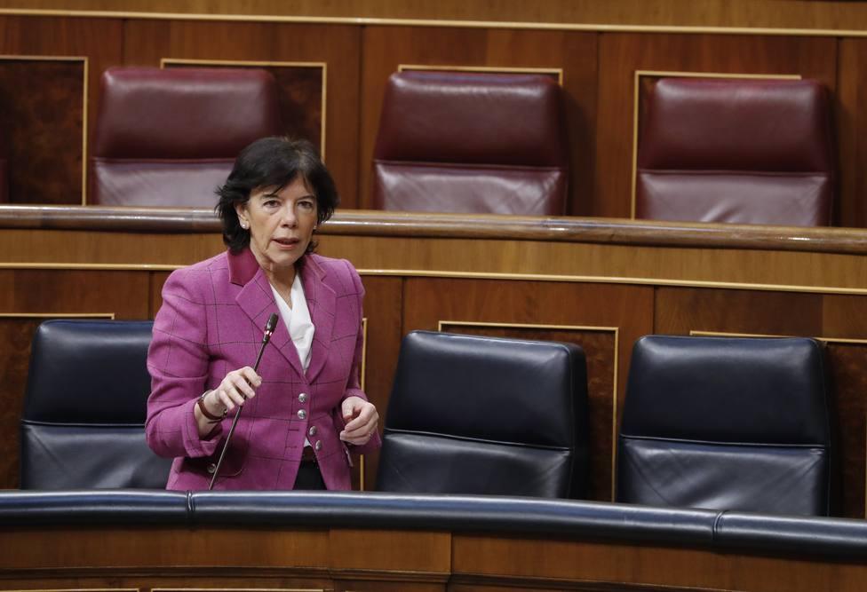 Coronavirus | Celaá defiende su ley educativa frente a las críticas de Vox en el Congreso