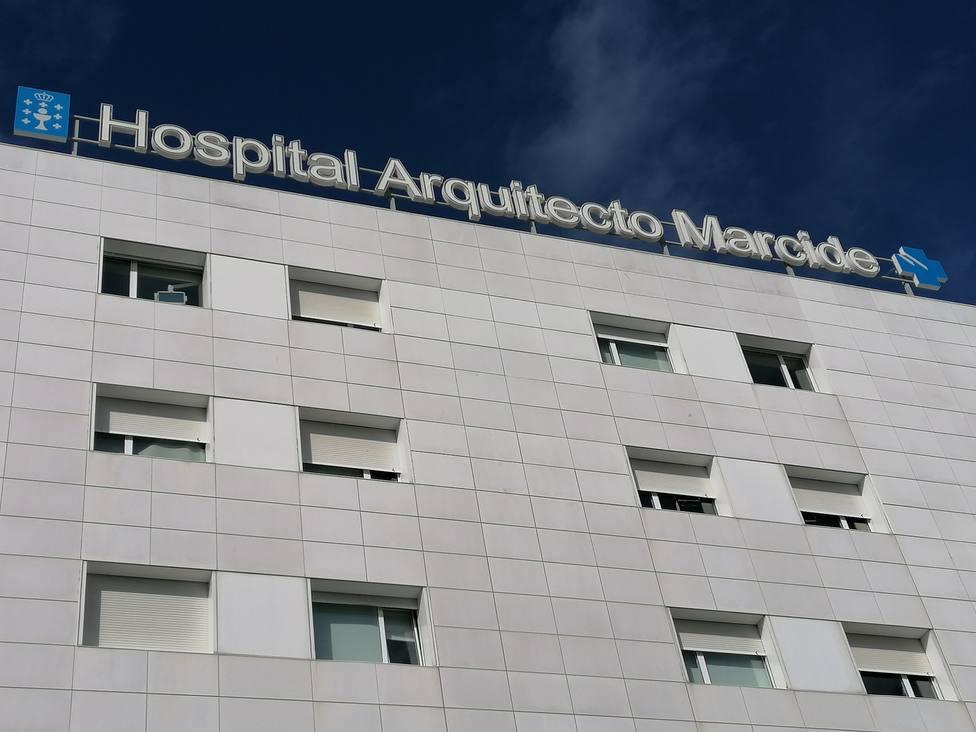 Foto de archivo de la fachada del Hospital Arquitecto Marcide de Ferrol