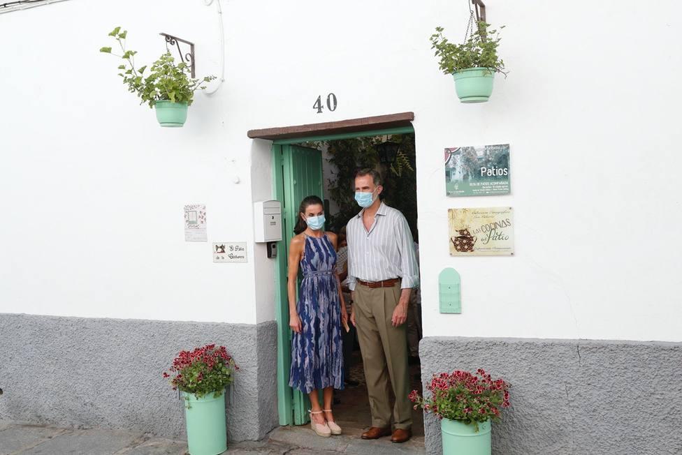 Unas vecinas cordobesas revelan lo que más ha gustado a Felipe y Letizia en su visita a Córdoba