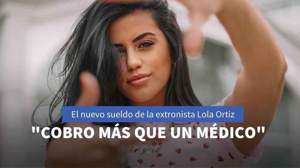 El nuevo sueldo de la extronista de Mujeres y hombres y viceversa Lola Ortiz como influencer
