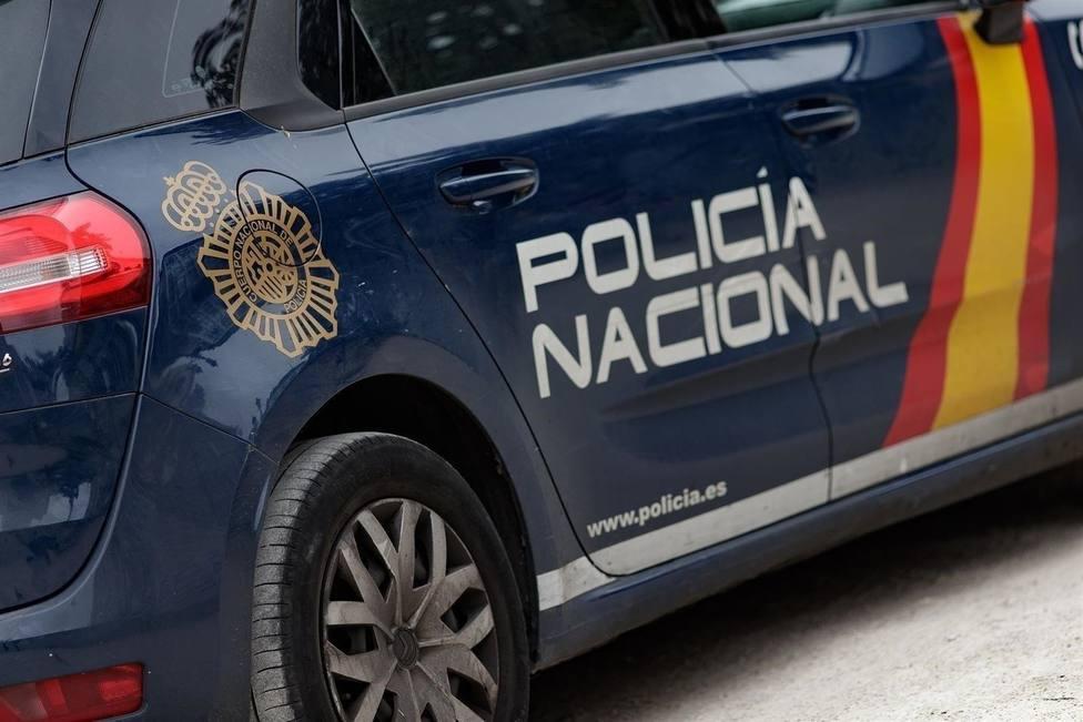 Coche Policía Nacional. Imagen de archivo